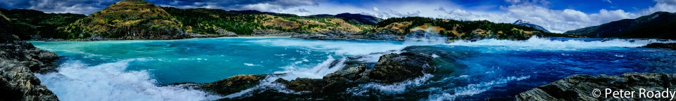 Rio Baker Confluencia Patagonia