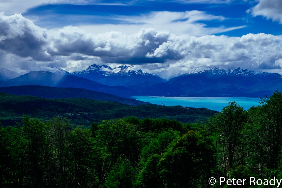 Lago General Carrera in Patagonia
