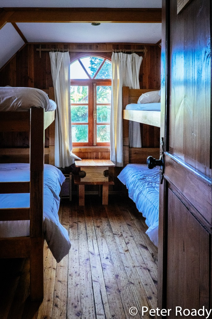 Bunk beds in Northern Patagonia