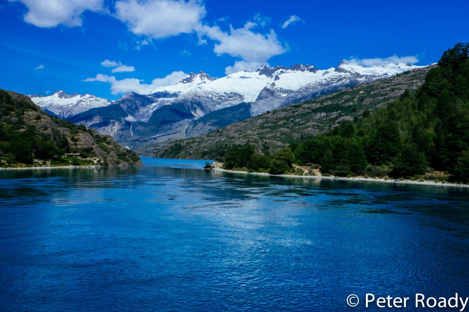 Scenery along the Carretera Austral in Patagonia