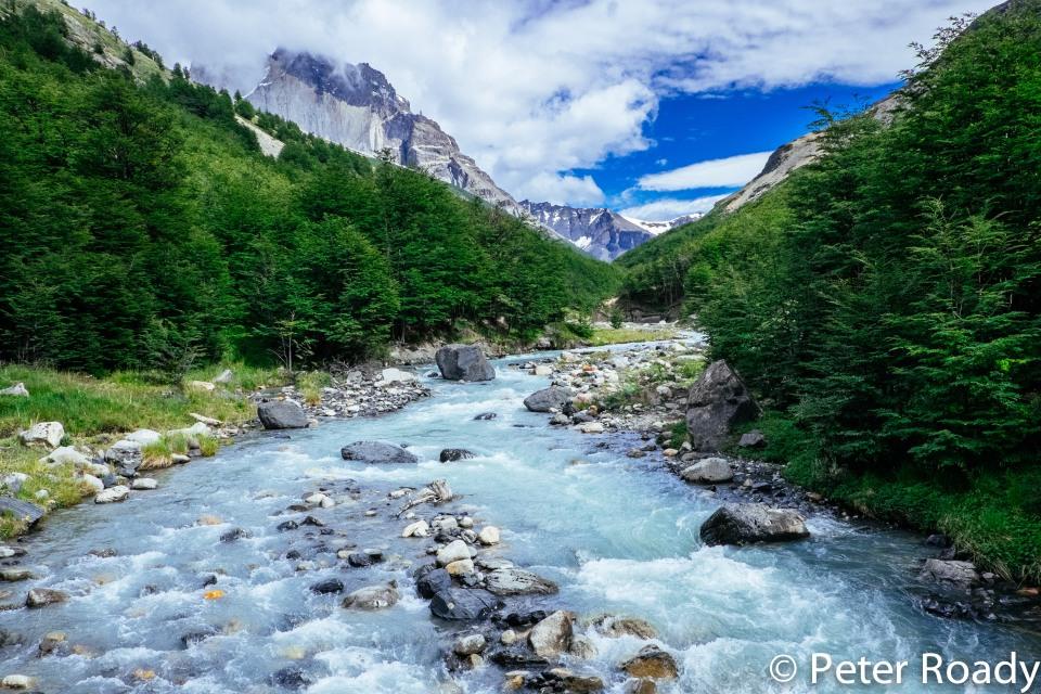 Rio Ascensio in Torres del Paine