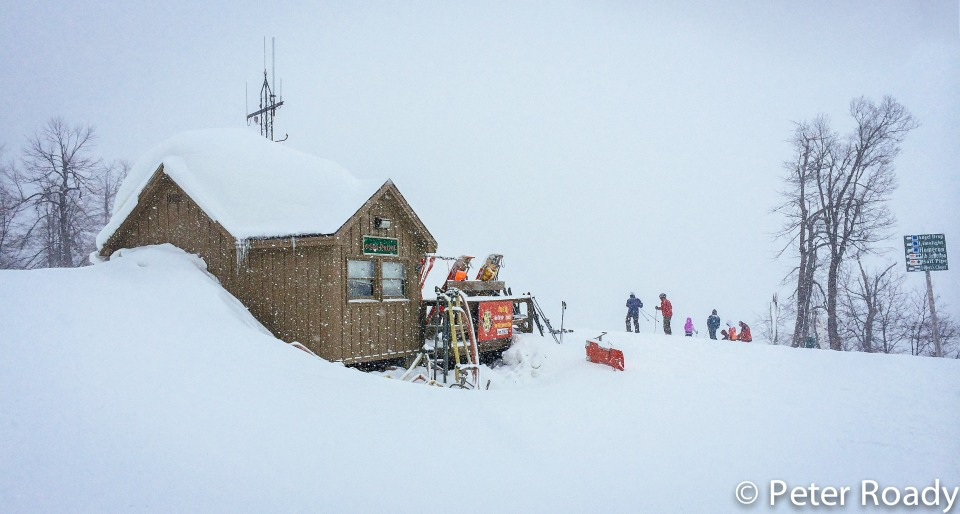 Whitetail Ski Patrol Hut