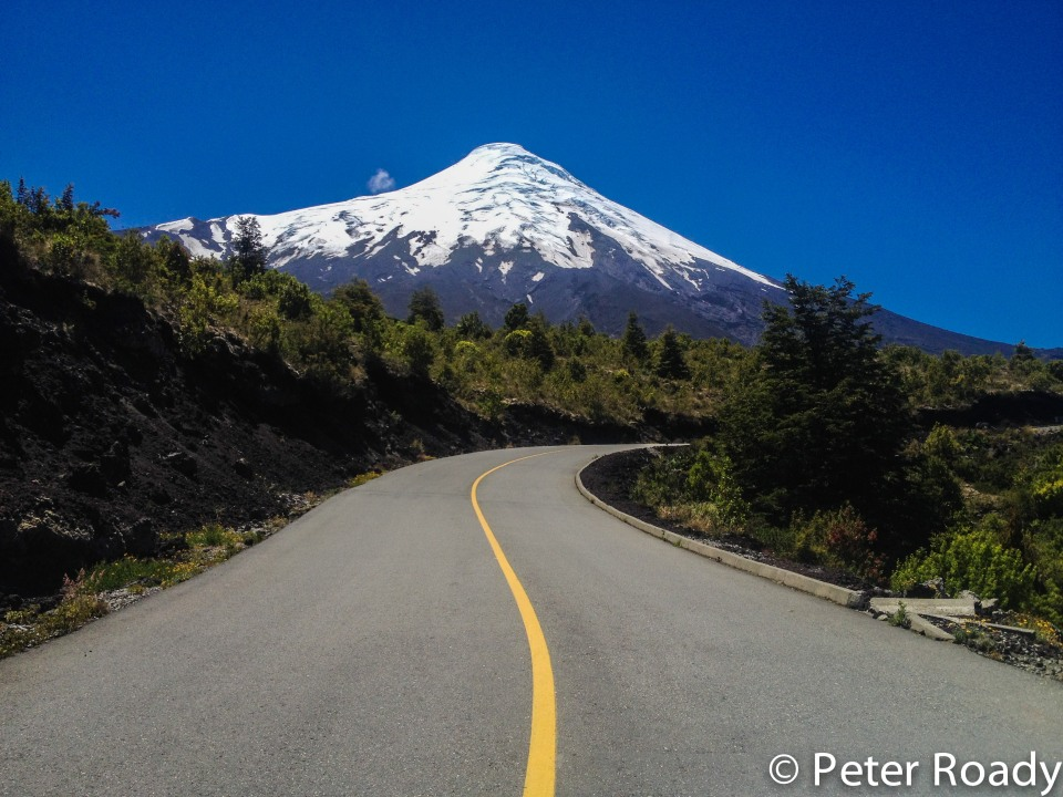Approach to Volcan Osorno